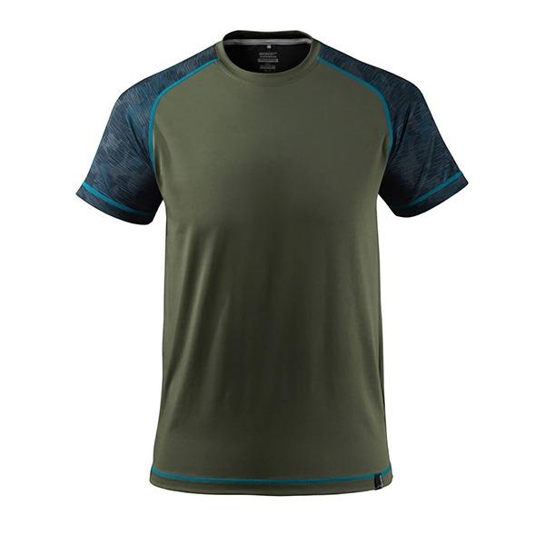 T-shirt coupe moderne - MASCOT Advanced vert foncé