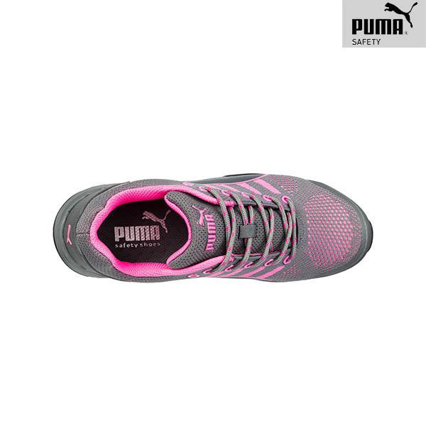 Chaussures de sécurité Femme Puma - Celerity Knit Pink wns Low - De haut