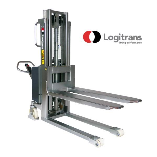 Gerbeur Électrique En Acier Inox - Capacité de 1000 kg   Logitrans