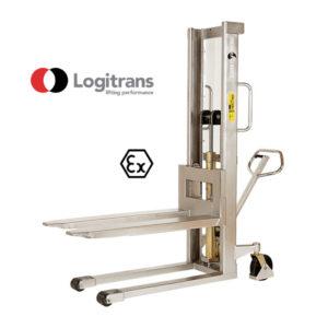 Gerbeur Manuel ATEX - Capacité de 1000 kg | Logitrans