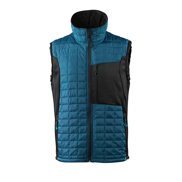 Gilet Grand Froid bleu et noir | MASCOT Advanced