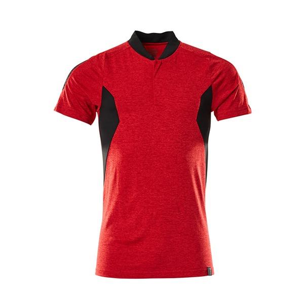 Polo 'CoolMax Pro' rouge et noir | MASCOT
