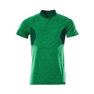Polo 'CoolMax Pro' vert gazon et vert bouteille | MASCOT