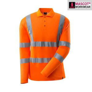 Polo Fluorescent Manches Longues | MASCOT SAFE CLASSIC