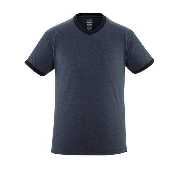 T-Shirt 'Algoso' denim bleu foncé | MASCOT
