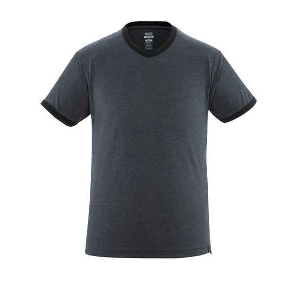 T-Shirt 'Algoso' denim noir | MASCOT
