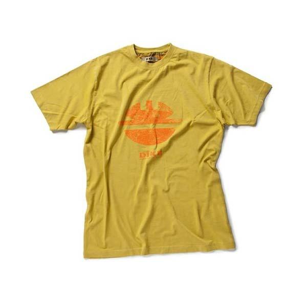 T-Shirt de travail Dike Ocre - TIDY