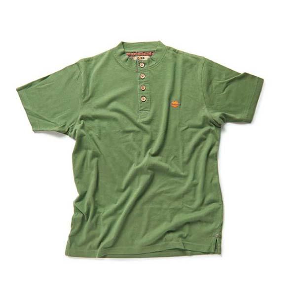 T-Shirt de travail 'TEST' moss | DIKE