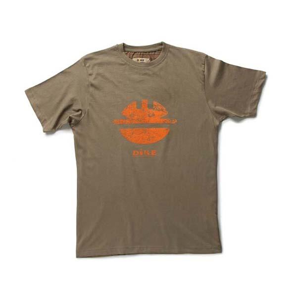 T-Shirt de travail 'TIDY' marron | DIKE