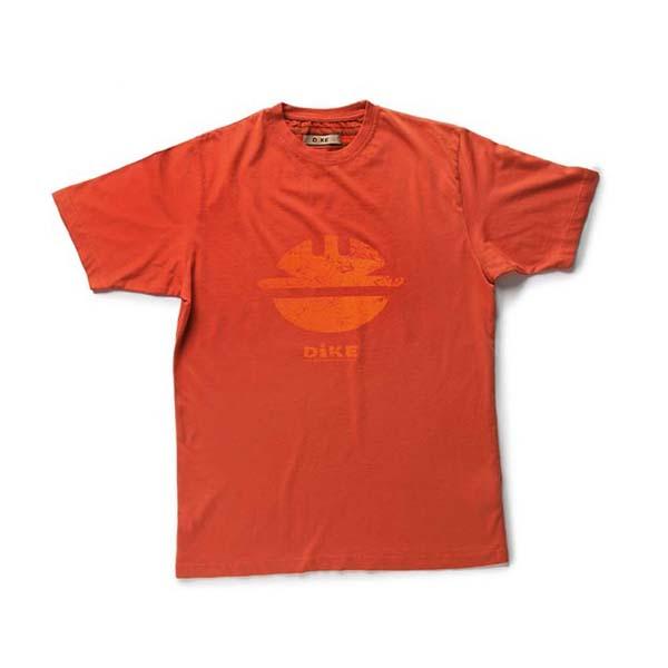 T-Shirt de travail 'TIDY' rouge | DIKE