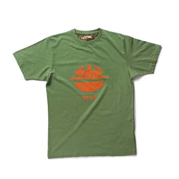 T-Shirt de travail 'TIDY' vert | DIKE