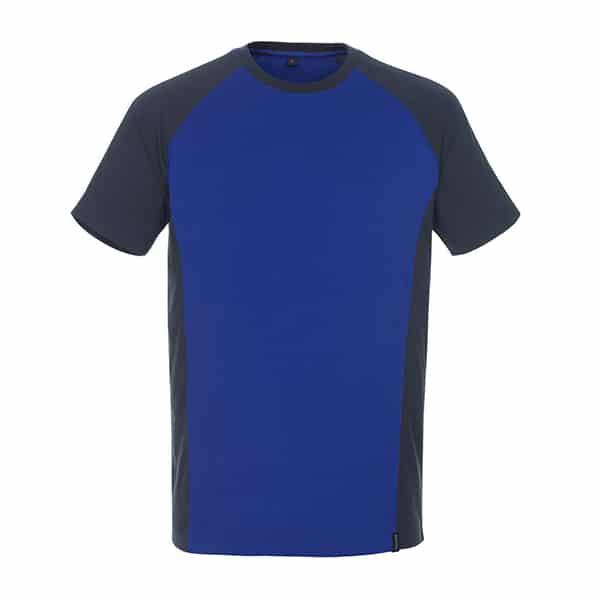 T-Shirt Potsdam bleu et marine foncé | MASCOT