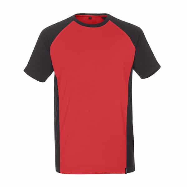 T-Shirt Potsdam rouge et noir | MASCOT