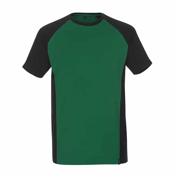 T-Shirt Potsdam vert et noir | MASCOT