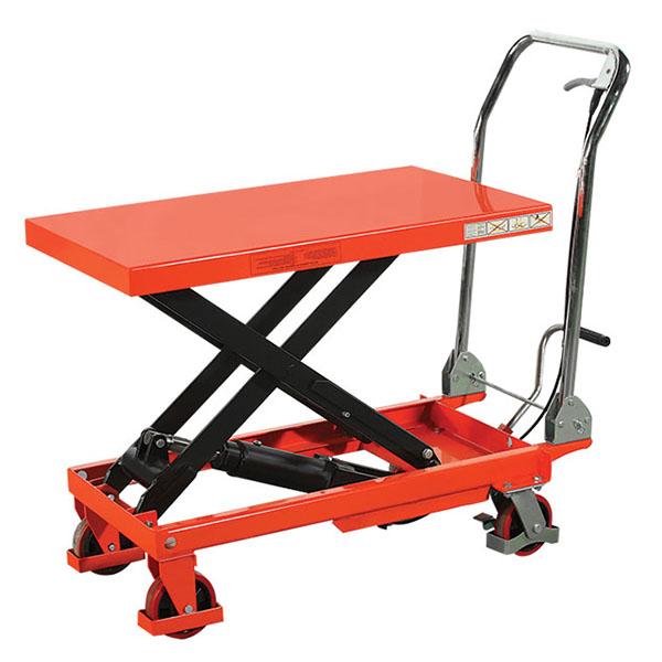 Table Élévatrice Manuelle – Capacité De 150 à 500 kg