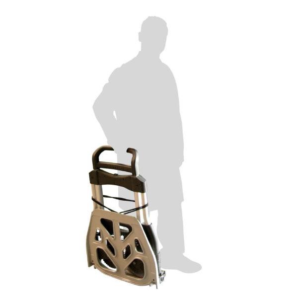 Diable En Aluminium Replié – Capacité De 250 kg