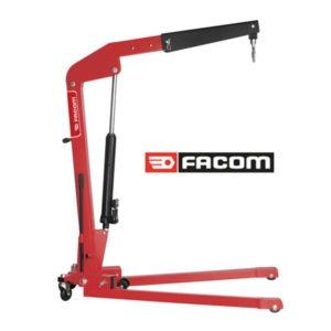Grue d'Atelier Manuelle Pliable Facom - Capacité de 1000 kg