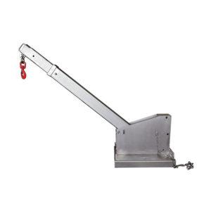 Potence Télescopique Inclinable Galvanisée - Capacité de 4500kg