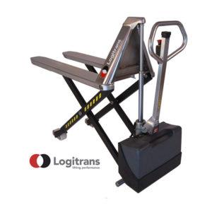 Transpalette Electrique Haute-Levée en Inox - Capacité de 1500kg - Logitrans
