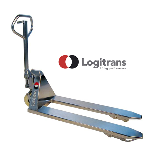 Transpalette Inox Manuel - Capacité de 2000kg - Logitrans