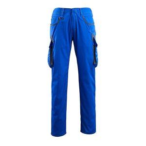 Pantalon de travail bicolore Mascot bleu roi et marine foncé - INGOLSTADT UNIQUE