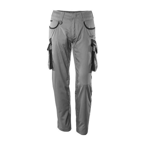 Pantalon de travail bicolore Mascot gris et noir - INGOLSTADT UNIQUE
