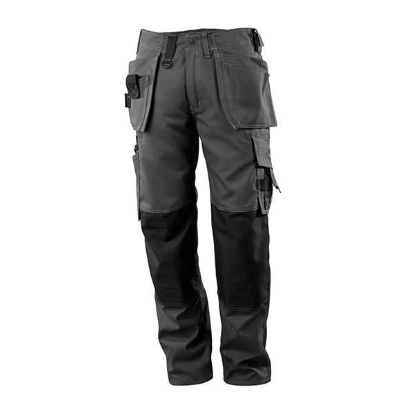 Pantalon de travail Mascot avec poches flottantes gris foncé - FRONTLINE LINDOS