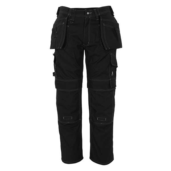 Pantalon de travail Mascot avec poches flottantes - HARDWEAR RONDA noir