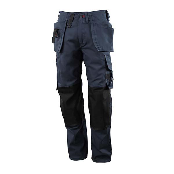 Pantalon de travail Mascot avec poches flottantes marine foncé - FRONTLINE LINDOS