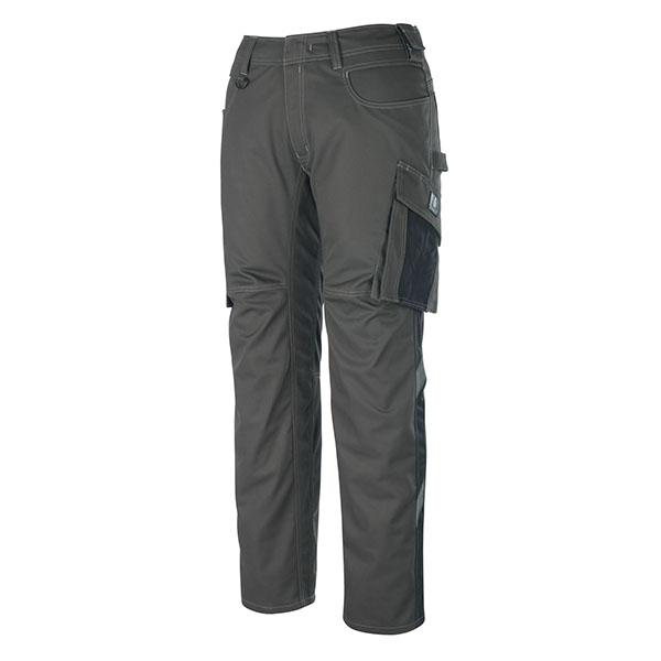 Pantalon de travail Mascot DORTMUND - Anthracite Foncé et Noir