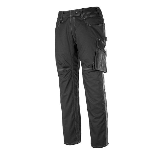 Pantalon de travail Mascot DORTMUND - Noir et Anthracite Foncé