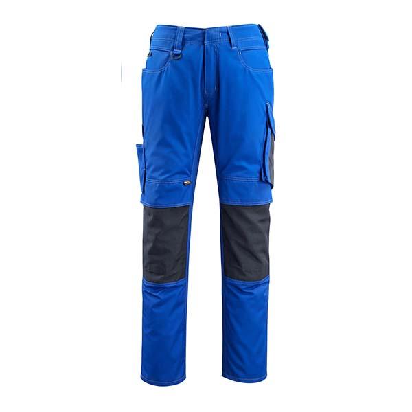 Pantalon de travail Mascot - UNIQUE MANNHEIM bleu roi et marine foncé