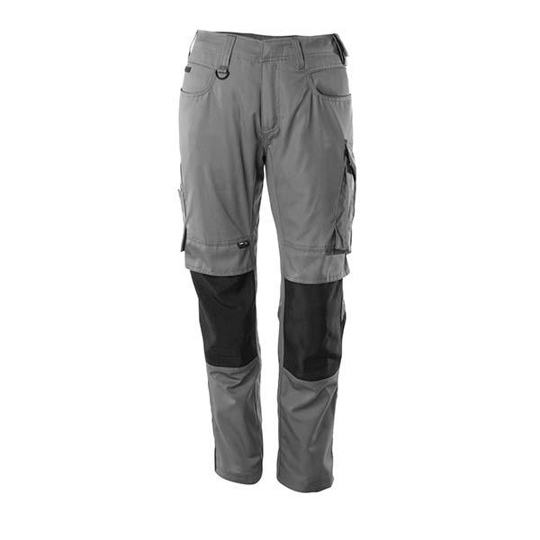 Pantalon de travail Mascot - UNIQUE MANNHEIM gris et noir