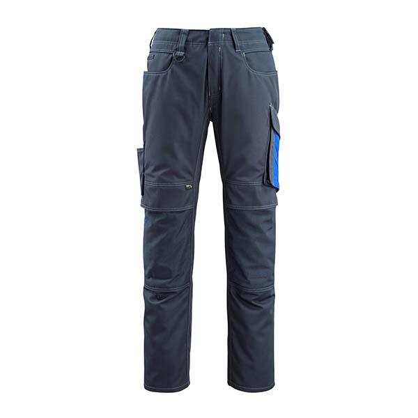 Pantalon de travail Mascot - UNIQUE MANNHEIM marine foncé et bleu roi