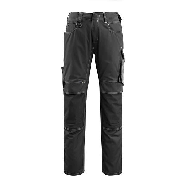 Pantalon de travail Mascot - UNIQUE MANNHEIM noir et gris foncé