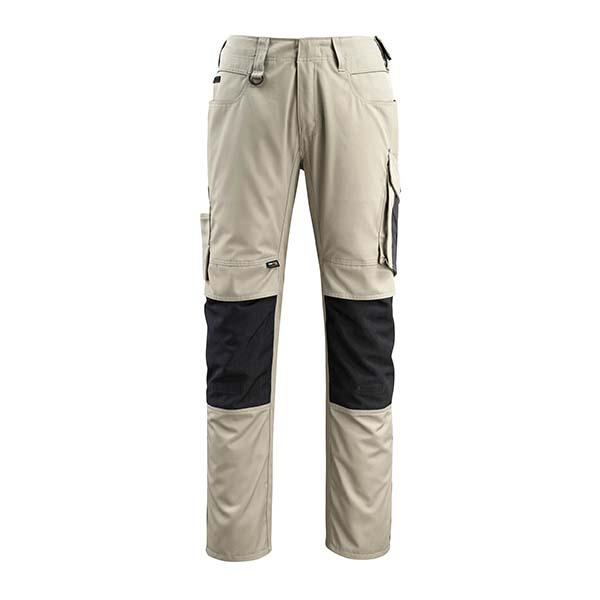 Pantalon de travail Mascot - UNIQUE MANNHEIM sable clair et noir