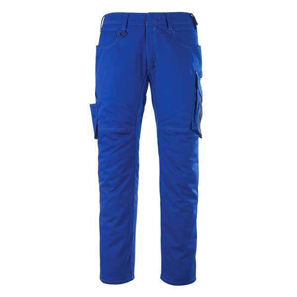 Pantalon de travail Mascot - UNIQUE OLDENBURG bleu roi et marine foncé