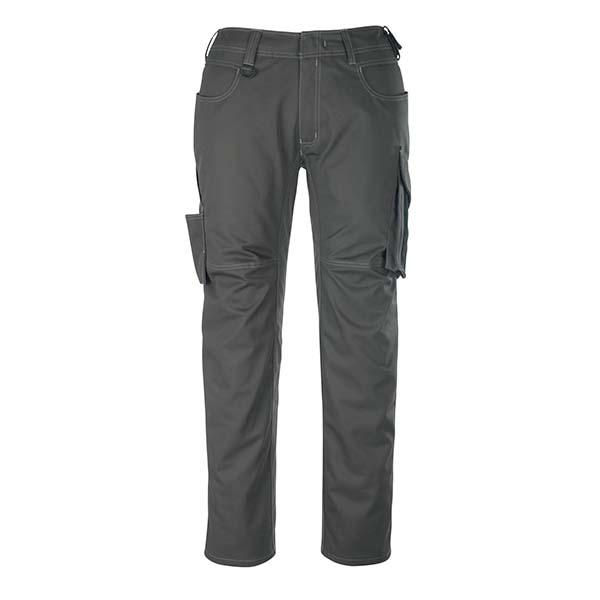 Pantalon de travail Mascot - UNIQUE OLDENBURG gris foncé et noir