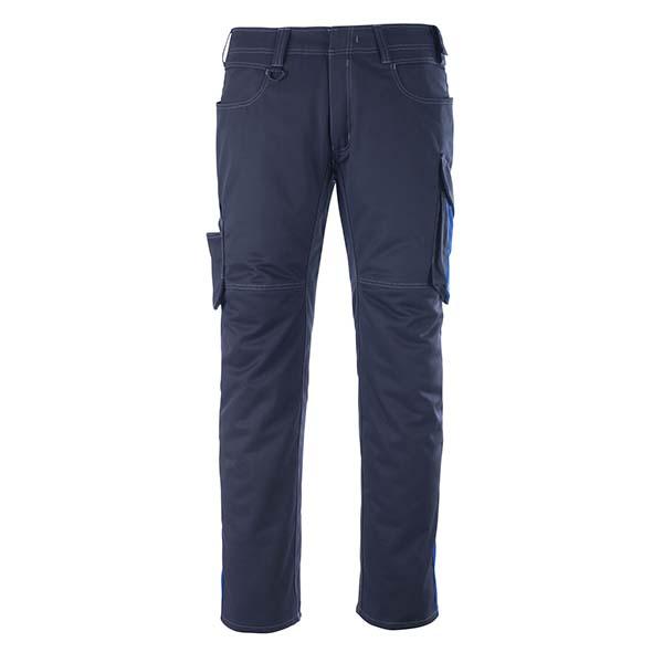 Pantalon de travail Mascot - UNIQUE OLDENBURG marine foncé et bleu roi