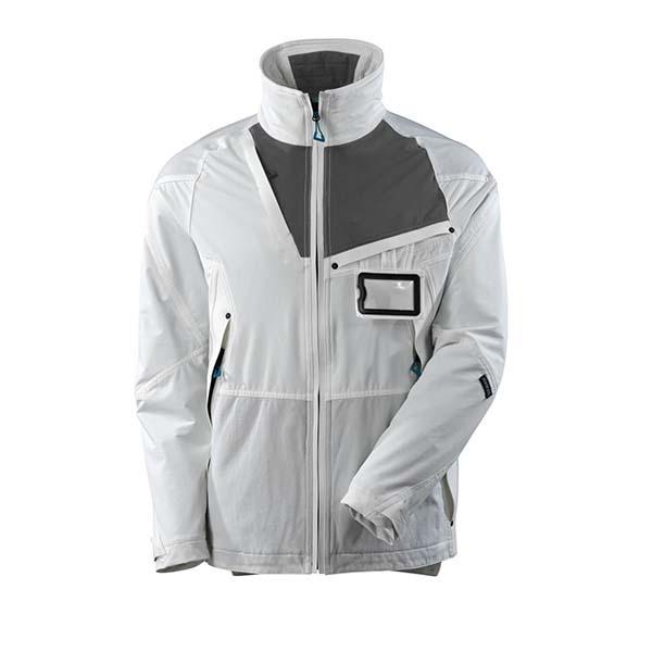 Veste d'extérieur Stretch - MASCOT ADVANCED blanc et gris foncé