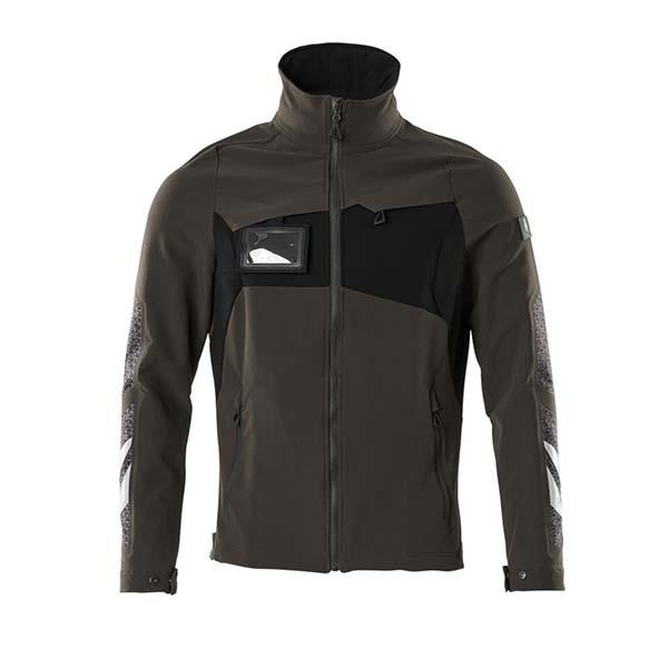 Veste stretch légère - MASCOT ACCELERATE gris foncé et noir