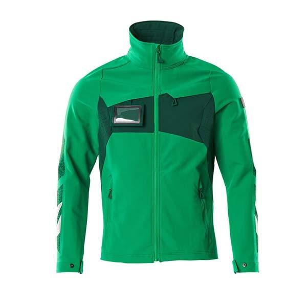 Veste stretch légère - MASCOT ACCELERATE vert gazon et vert bouteille