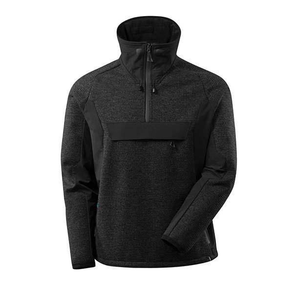 Veste tricot demi-zippé Mascot - ADVANCED noir