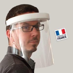 Visière de protection pour le visage - Transparente
