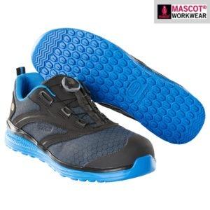 Chaussures de sécurité basses Mascot - Footwear Carbon - Bleu et Noir