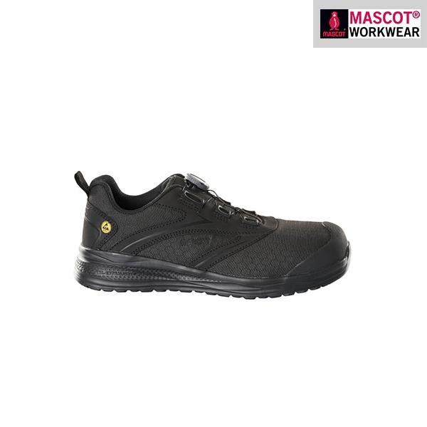 Chaussures de sécurité basses Mascot - Footwear Carbon - Noir - Vue de côté