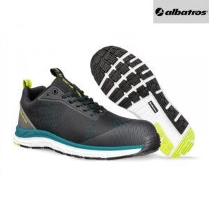 Chaussures de sécurité Albatros AER55 - Impulse Low - Noir et Bleu