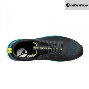 Chaussures de sécurité Albatros AER55 - Impulse Low - Noir et Bleu - Vue de Dessus