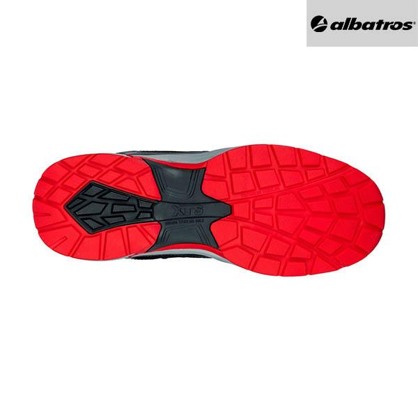 Chaussures de sécurité Albatros - Ultratrail Black Low - Semelle