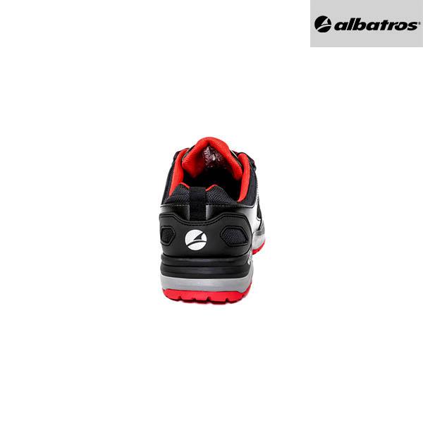 Chaussures de sécurité Albatros - Ultratrail Black Low - Talon